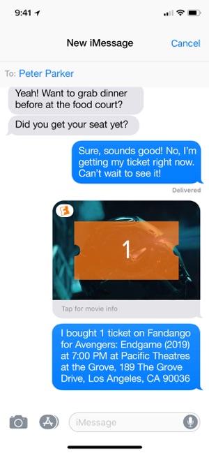 can you return fandango tickets