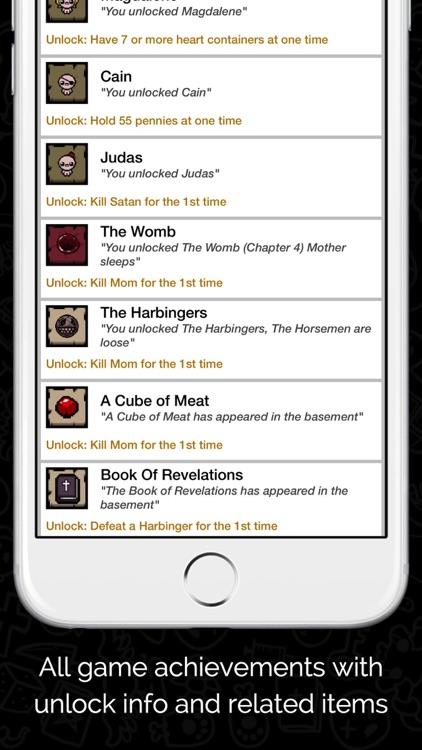 Guide for Binding of Isaac screenshot-3