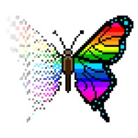 Codes for Butterfly Pixel Art Hack