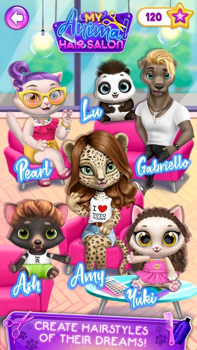 My Animal Hair Salon screenshot 2
