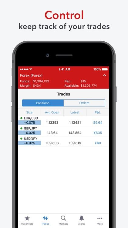 IG Forex: spot FX screenshot-4