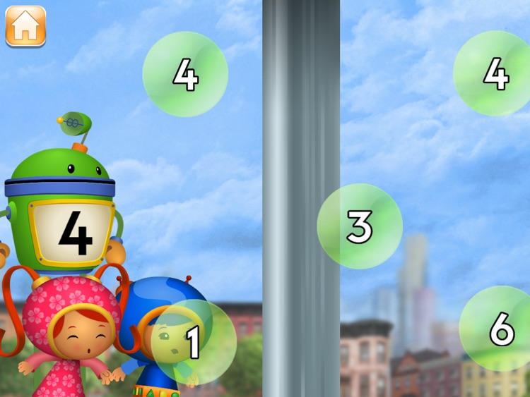 Umizoomi Zoom Into Numbers HD screenshot-3