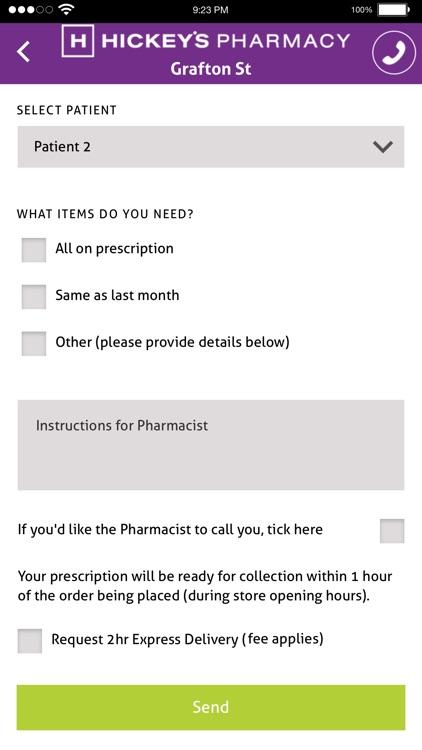Hickey's Pharmacy App screenshot-3