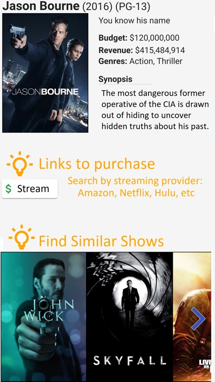 Movie & TV Pix - Recommender screenshot-4