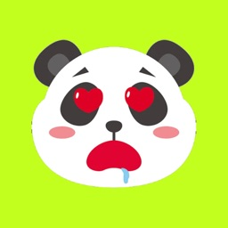 Panda Cartoon Stickers