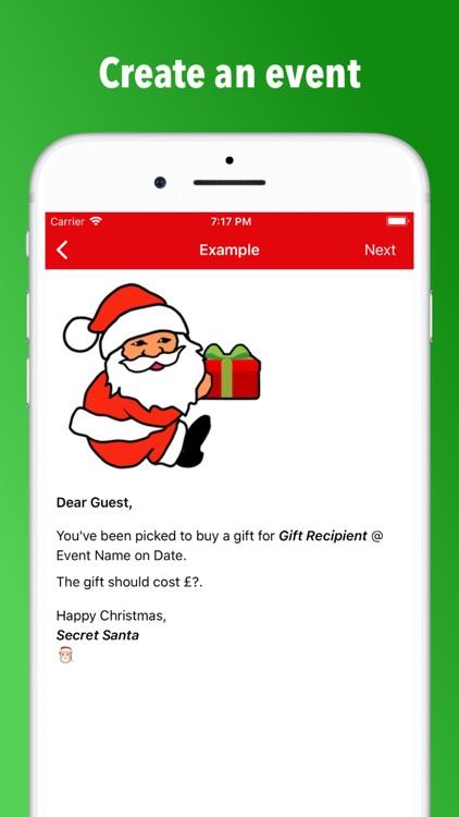Secret Santa - gift exchange screenshot-3