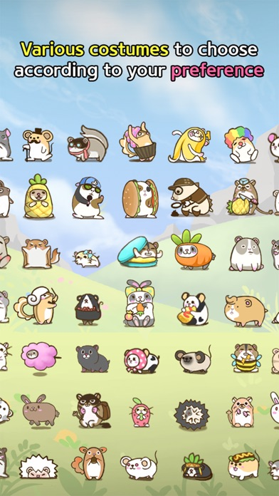 Rolling Mouse -tap tap hamster screenshot four