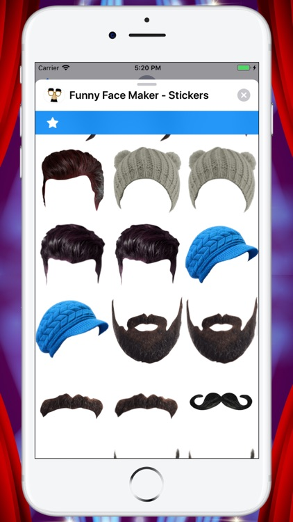 Funny Face Maker - Stickers