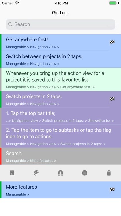 Manageable: Nested ToDo Lists