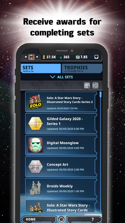 Star Wars Card Trader by Topps screenshot-6