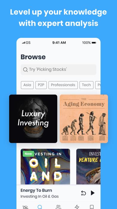 Finimize: Finance Simplified Screenshot