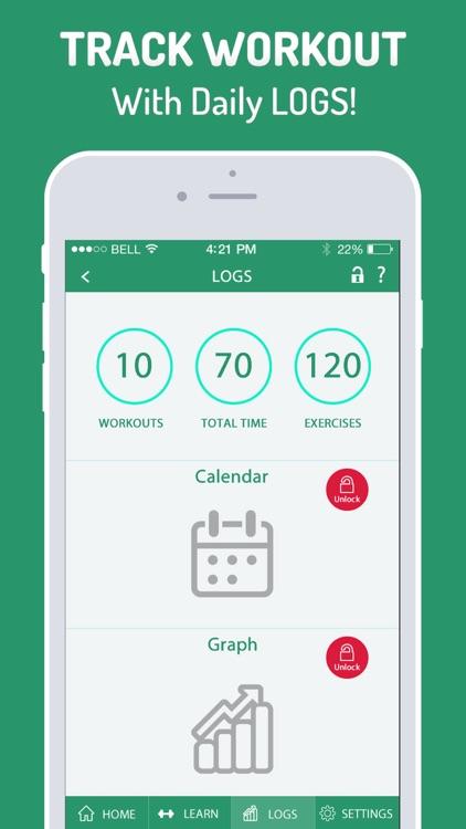7 Minutes Workout & Exercises screenshot-4