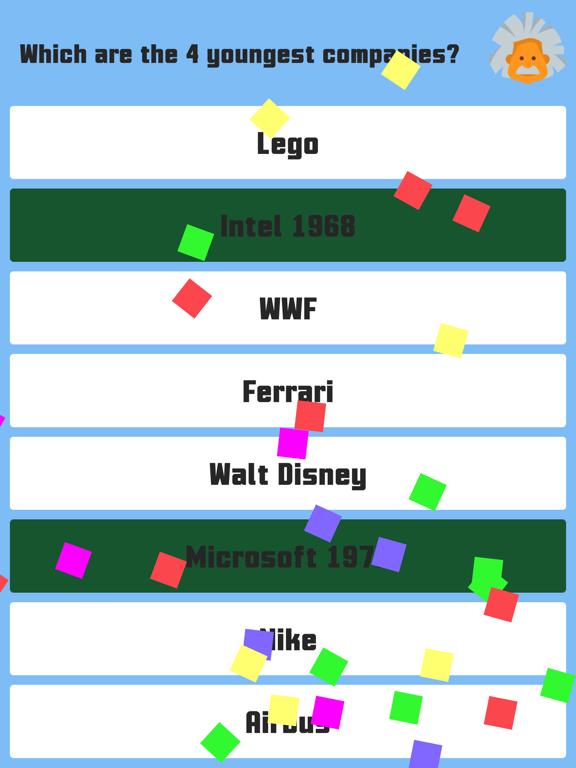 2 Player Quiz Screenshots