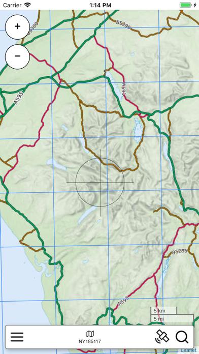 Lake District Outdoor Map PRO screenshot 1