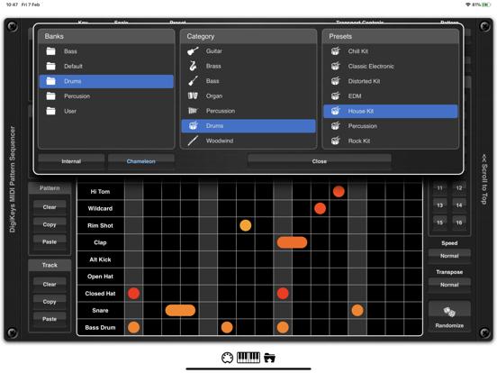 DigiKeys AUv3 Sequencer Plugin screenshot 12