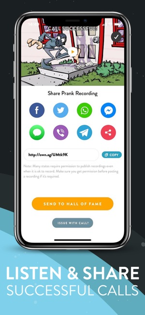 Prank Dial: Ownage Prank Calls on the App Store