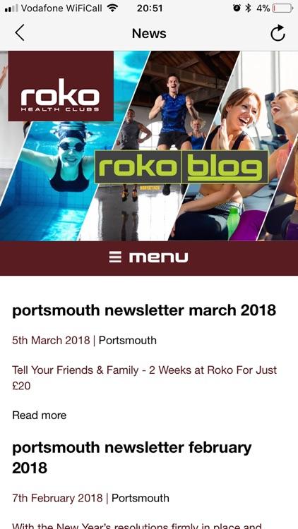 Roko Health Clubs screenshot-4