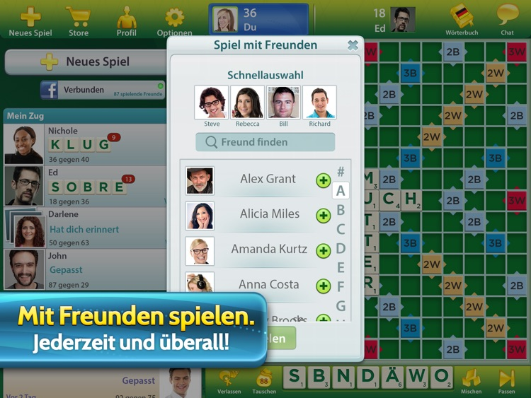 SCRABBLE™ Premium für iPad screenshot-2