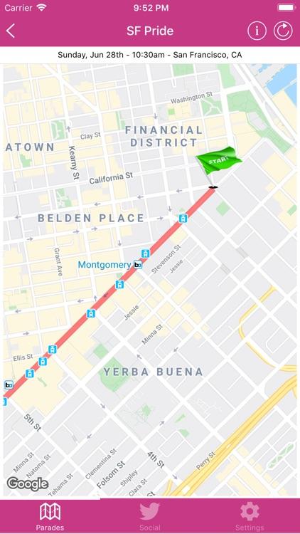 Pride Parade Tracker screenshot-4