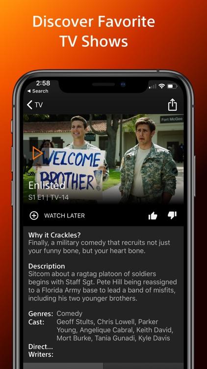 Crackle - Movies & TV screenshot-3