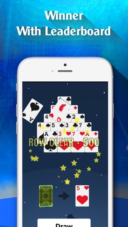 Pyramid Solitaire Card Classic screenshot-4