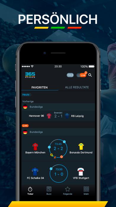 Screenshot for 365Scores - Sport Live Ticker in Switzerland App Store