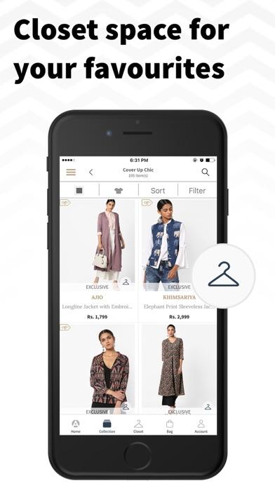 AJIO Online Shopping App