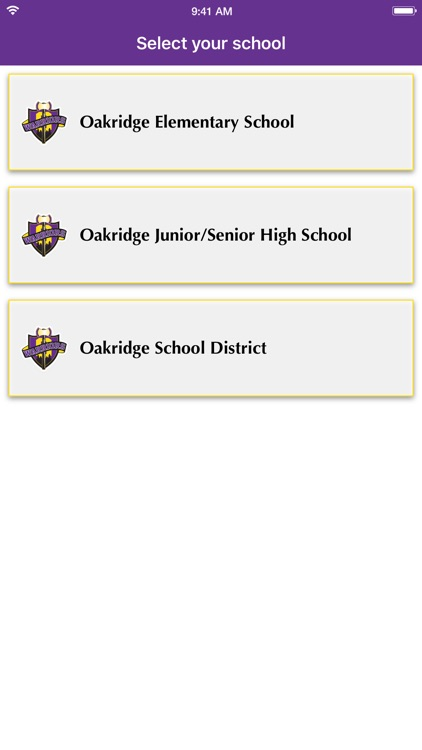 Oakridge School District screenshot-3