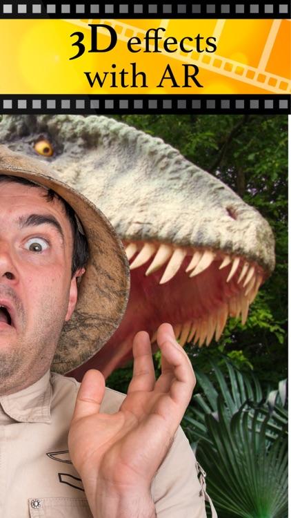 Jurassic AR Camera 3D Glasses