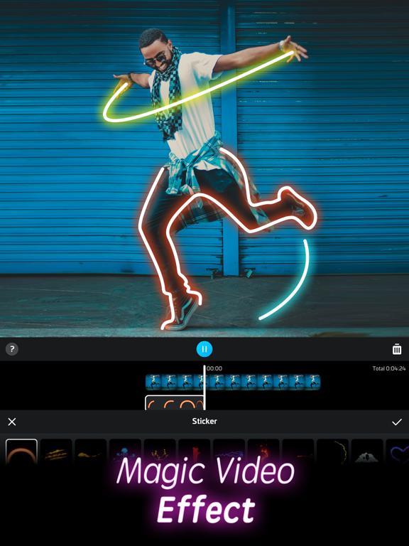 iPad Image of Video FX-Magic Video Editor