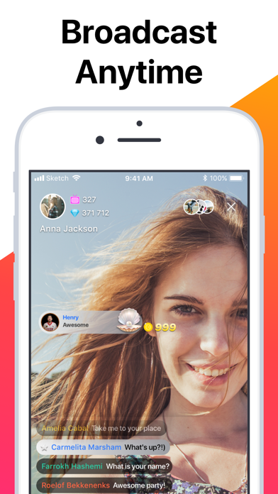 Screenshot for Tango - Live Video Broadcasts in Netherlands App Store