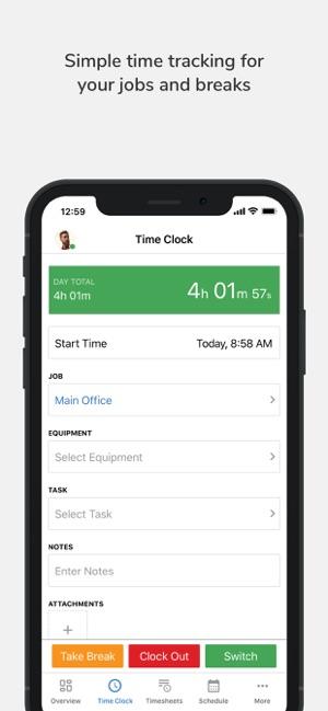 TSheets Time Tracker en App Store