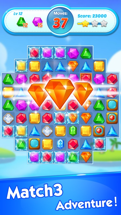 Jewel Crush®- Match 3 Games screenshot-0