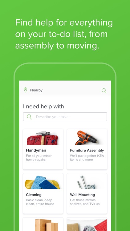 TaskRabbit - Handyman, Errands screenshot-2