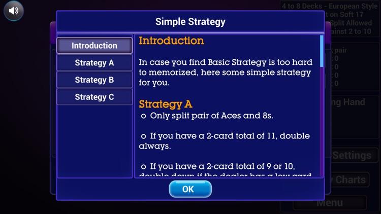 Blackjack Trainer: All in one screenshot-7