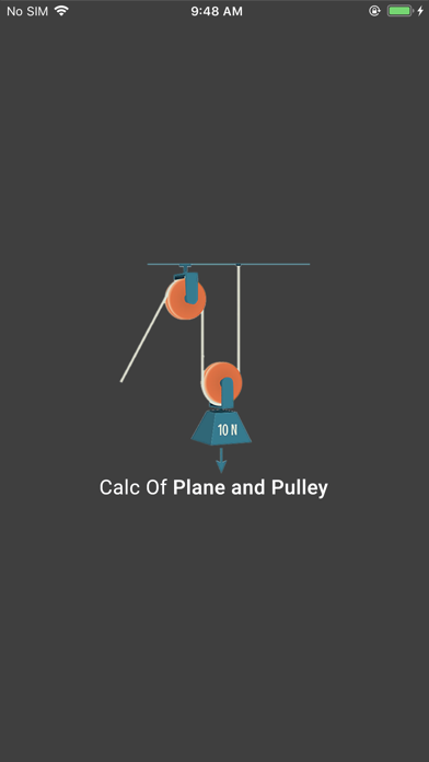 Calc of Plane and Pulley screenshot 1