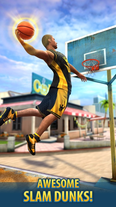Screenshot from Basketball Stars™