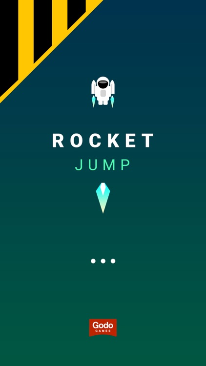 Space Jumper. Tap to Jump Up