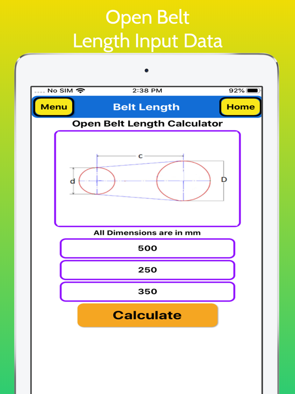 Belt Length Calculator screenshot 12