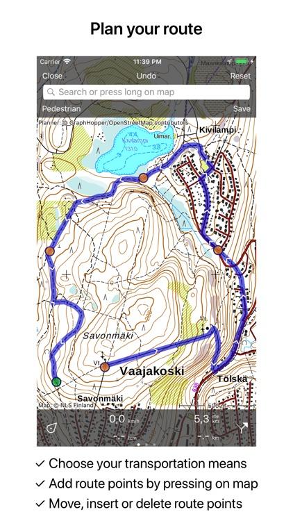 Topo GPS Finland screenshot-4