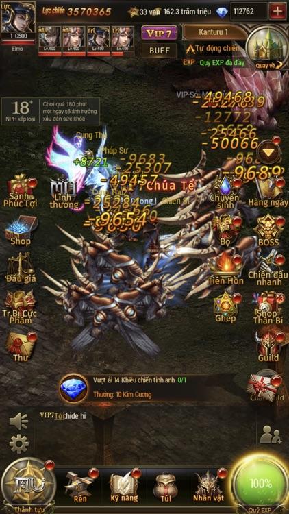 MU Đại Thiên Sứ H5 screenshot-5