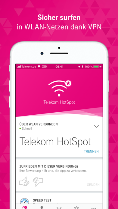 Screenshot for Connect App - HotSpot Manager in Germany App Store