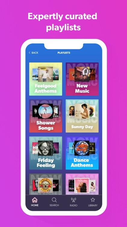 NOW Music App screenshot-6