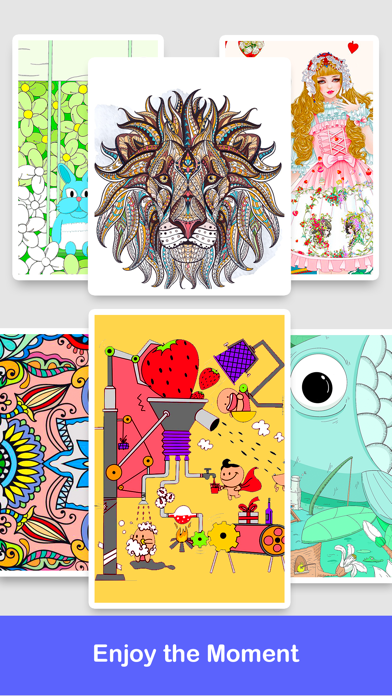 Colorly - Coloring Book & Game Screenshot