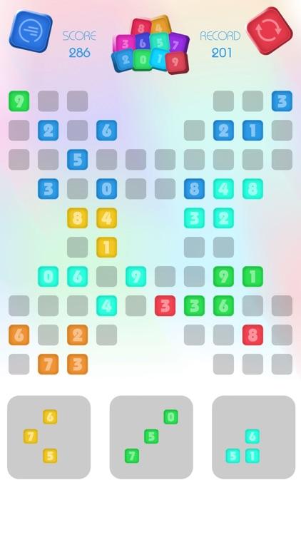 Numbers Block Puzzle - Match 3 screenshot-3