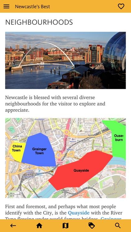 Newcastle's Best: Travel Guide screenshot-3