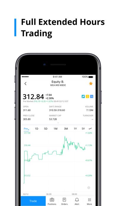 Screenshot #3 pour Webull: Trade Stocks & ETFs