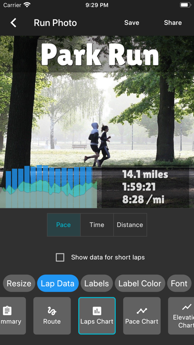 Run Photo - for Garmin, Stravaのおすすめ画像6