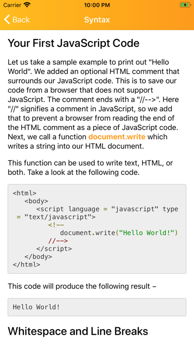 Learn JavaScript Development screenshot 9