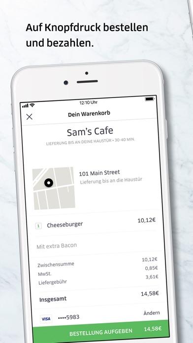 Screenshot for Uber Eats: Essenslieferung in Austria App Store